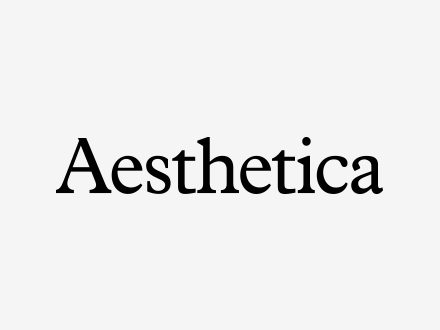 Find out more: <p>Aesthetica</p>